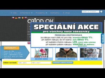 www.orionok.cz