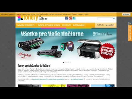 www.tonerydotlaciarne.sk