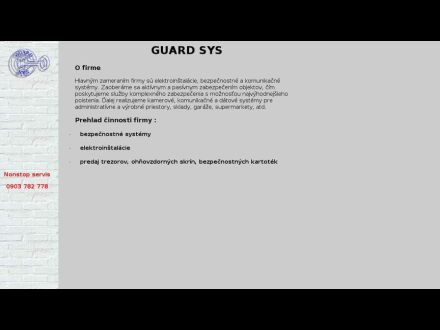 www.guard-sys.sk