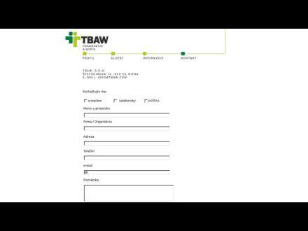 www.tbaw.sk