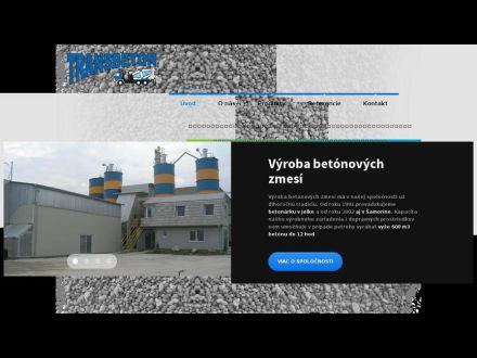 www.transbeton-samorin.sk