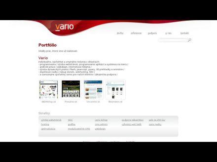 www.vario.sk