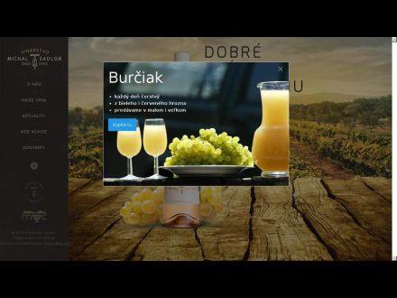 www.vinarstvosadlon.sk