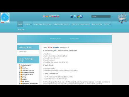 www.aquaslovakia.sk