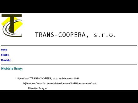 www.transcoopera.sk