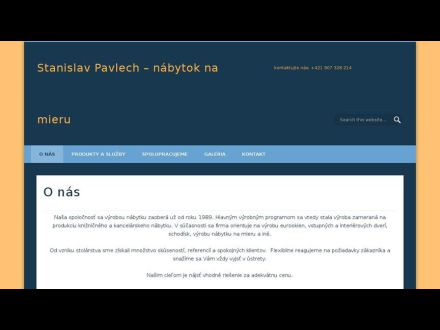 www.stolarstvo-pavlech.sk