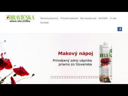 www.zdravienka.sk