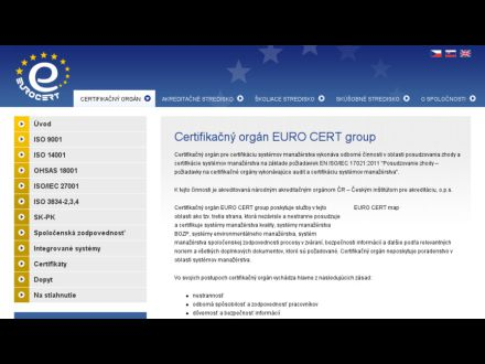 www.eurocert.sk