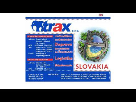 www.trax.sk