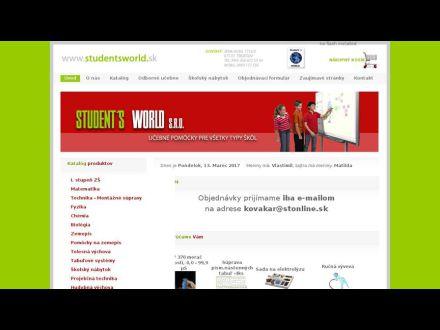 www.studentsworld.sk