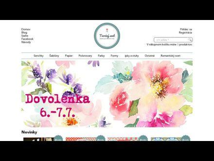 www.tvorivysvet.sk