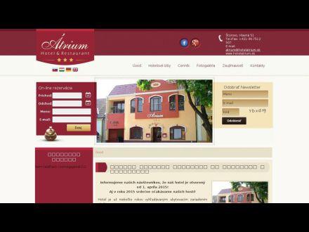 www.hotelatrium.sk