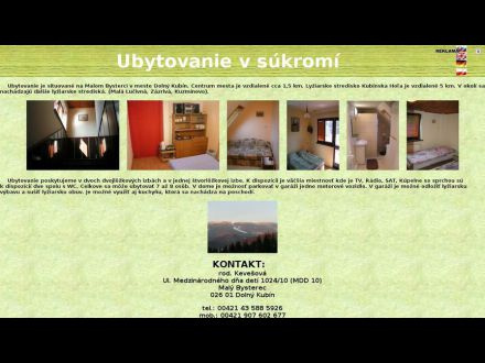 www.ubytovanie.dk.szm.sk