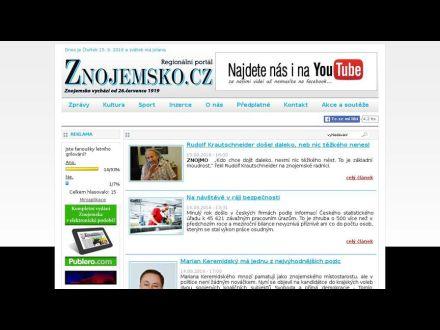 www.znojemsko.cz