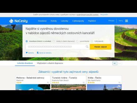 www.nacesty.cz