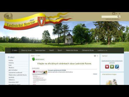 www.lednickerovne.sk