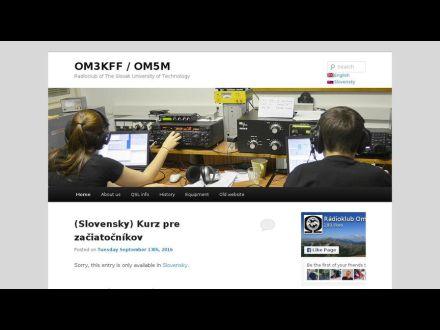 www.om3kff.sk