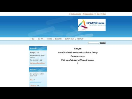 www.dampo.sk