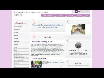 zsmsklenova.edupage.org