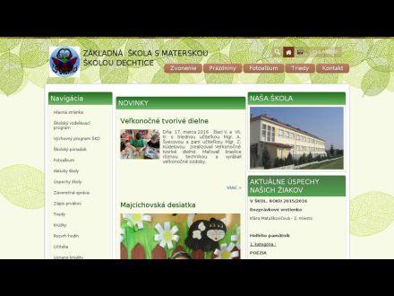 www.zsdechtice.edupage.org