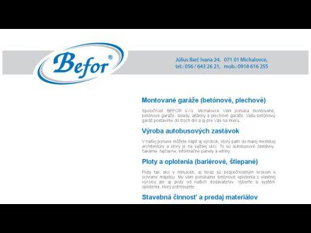 www.befor.sk
