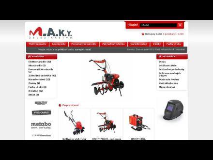 www.makyzeleziarstvo.sk