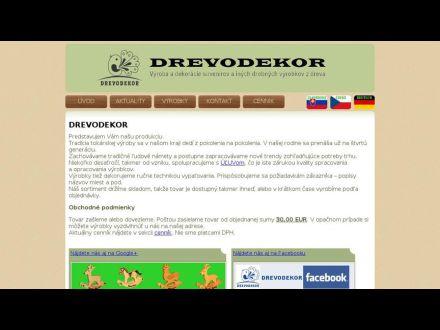 www.drevodekor.sk