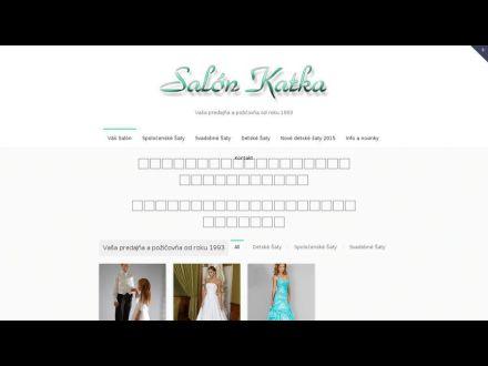 www.salonkatka.sk