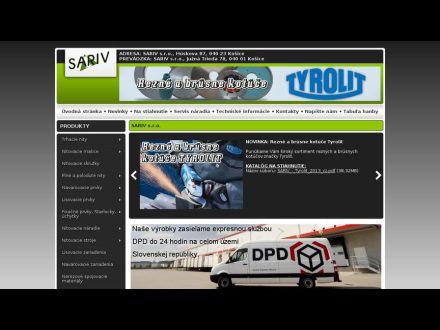 www.sariv.sk