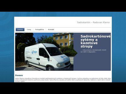 www.sadrokarton-klamo.sk