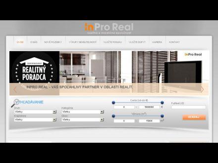 www.inproreal.sk