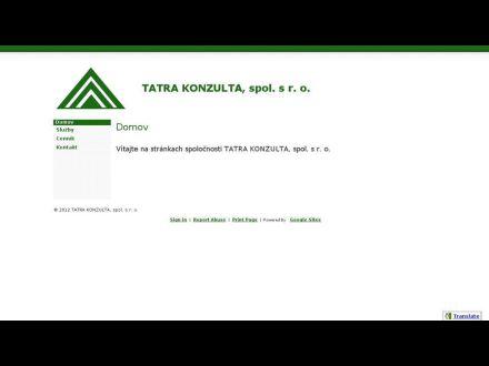 www.tatrakonzulta.eu