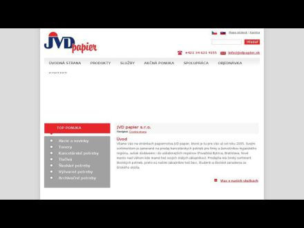 www.jvdpapier.sk