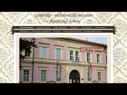 www.gmmuzeum.sk