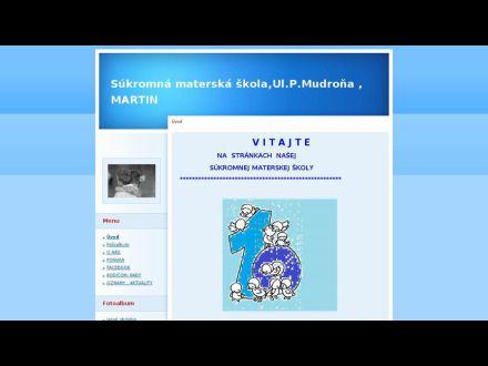 www.smsmudronova.estranky.sk