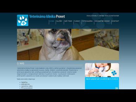 www.vet-klinikaprovet.sk