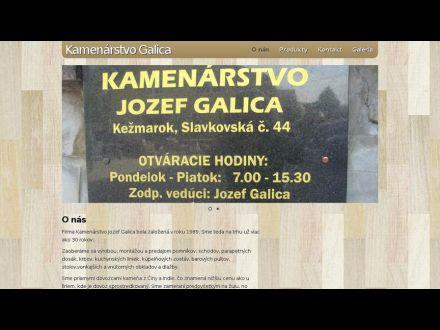www.kamenarstvogalica.sk