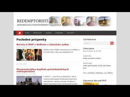 www.redemptoristi.nfo.sk