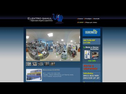 www.elektrosahul.eu