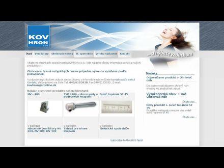 www.kovhron.com