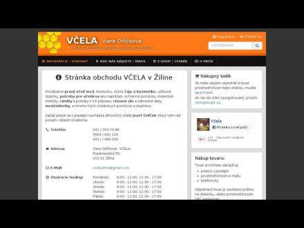 www.vcela-med.sk