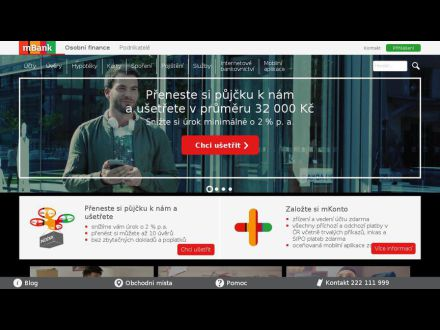 www.mbank.cz