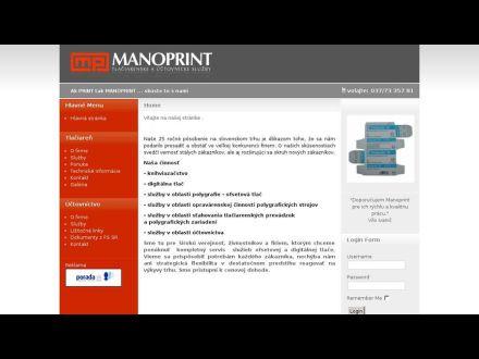 www.manoprint.sk