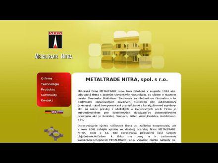 www.metaltradenitra.sk