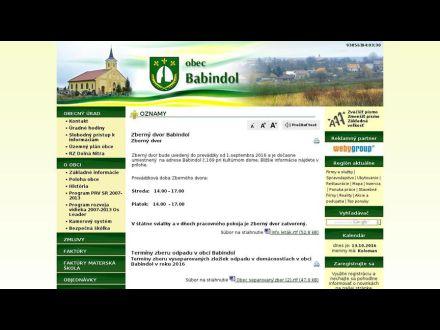 www.babindol.sk