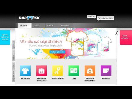 www.darttisk.cz