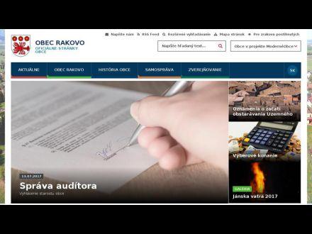 www.rakovo.sk
