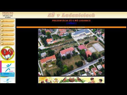 www.zsludanice.edu.sk