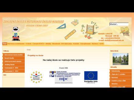 www.zsnovosad.sk