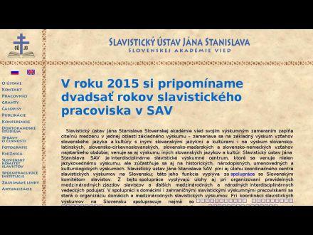 www.slavu.sav.sk